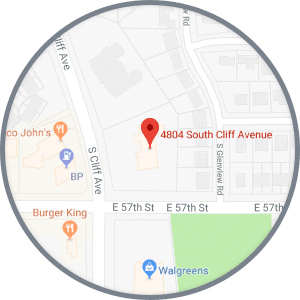 Map Cliff Ave Journey Orthodontics Sioux Falls and Yankton, SD