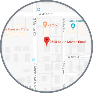 S Marion Map Journey Orthodontics Sioux Falls and Yankton, SD